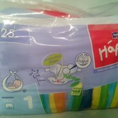 Подгузники Bella Happy Newborn 1 (2-5 кг) 25 шт Памперсы Хеппи.