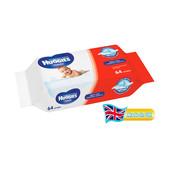 Детские влажные салфетки Huggies Classik 64шт. Хагиc классик Великобритания