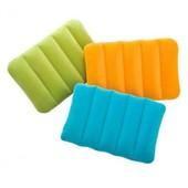 Надувная подушка Intex велюр 68676