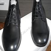 Высокие туфли, полуботинки, ботинки новые Calvin Klein Leather Boot Harding р.11,на наш 46