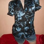 Блузка летняя, 42 размер, индивидуальный пошив