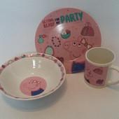 Детская посуда Свинка Пеппа
