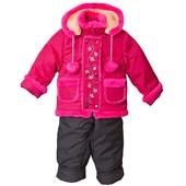 Куртка с полукомбинезоном зимняя на овчине
