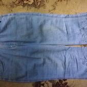 Лёгкие джинсовые бриджи