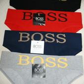 Новое бесшовное безразмерное белье Adidas, Boss, Levis, 3 пары на выбор