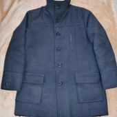 Пальто зимнее мужское M-L черное и серое