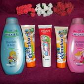 2в1 детская шампунь+гель (для мальчика или для девочки). зубная паста