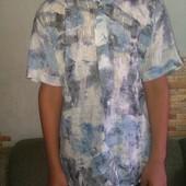 Рубашка мужская Giesto. Короткий рукав.