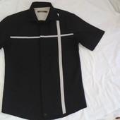 черная рубашка р S