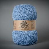 Пряжа Этно-Коттон 1200 (Ethno-Cotton 1200),голубой артикул 015