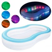 Надувной бассейн Bestway с разноцветной подсветкой 5413