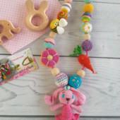 Слингобусы с игрушкой Зайка