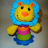 Игрушка на присоске погремушка Лев, Tesco