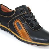 Подростковые туфли полуспорт Black Stylen Gard