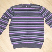 Стильный фирменный мужской свитер