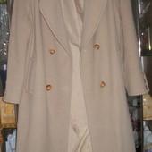 873. Пальто кашемировое р. 12 14,элегантное.