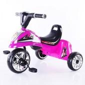 Детский трехколесный велосипед свет+звук 5347