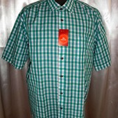 Мужская рубашка, натуральный хлопок, разм. 54 наш