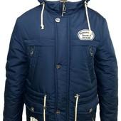 Зимняя теплая удлиненная куртка-парка на мальчика -подростка,размеры 36-46 ,цвета разные