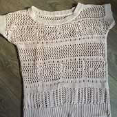 Легкий летний свитер. размер S, Zebra