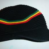 шапка кепка вязаная на ог 48-50 см
