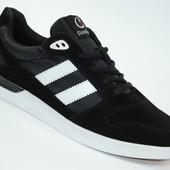 Мужские замшевые кроссовки Classica Style Black
