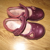 clarks,туфельки для девочки р.21.5 стелька 13.5 см