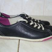 Ecco  кожаные кроссовки (38)