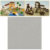 Пластина 40*40 см, поле для сборки конструктора
