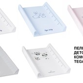 Пеленаторс ростомером  Tega для новорожденных на кроватку и комод