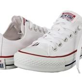 Кеды Converse all star белые 35-42р.Ниже цени нет!