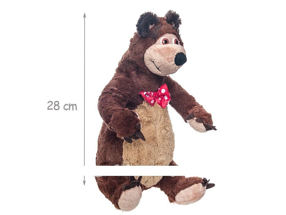 Медведь из м/ф маша и медведь 25см фото №1