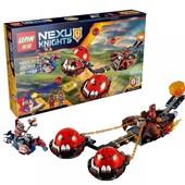 Конструктор Nexo 14004 Безумная колесница Укротителя. Knights нексо найтс