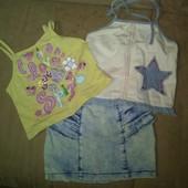 Одежда для девочки 5-7 лет