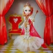 Королева Эпл Вайт с ресничками ever after high royally apple white