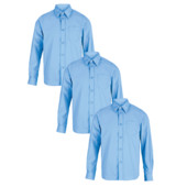 Голубые рубашки для школьников  от ТМ Top Class из Англии