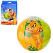 Intex 58052 61 см. Надувной мяч Король Лев