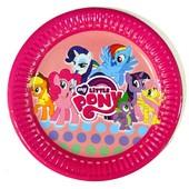 Декор и одноразовая детская бумажная посуда Маленькие пони