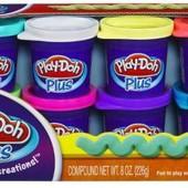Набор Play-Doh Plus из 8 баночек от Hasbro