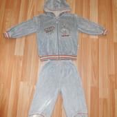 Велюровые костюмчики мальчику на 1,5-2,5 года
