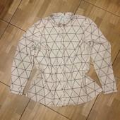 Рубашка-блузка р-р 18(52 XL) ОГ 109-112