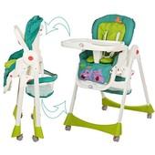 Бемби 1517 стульчик для кормления высокий Bambi детский пластиковый