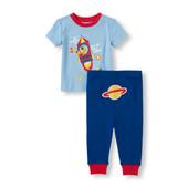 Хлопковая пижама для мальчика childrensplace