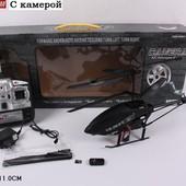 Вертолет на р.у S05 с гироскопом, камерой аккум.кор.65*24*11