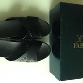 Шлепанцы шлепки Fabi оригинал Италия натуральная кожа Новая коллекция Будьте стильными!