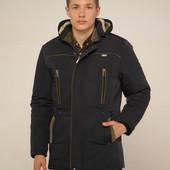 Куртка зимняя мужская с капюшоном 48, 50, 52, 54, 56, 58р.