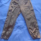 Очень красивые штаны, коричневого цвета, очень приятная на ощупь ткань, Размер L-XL