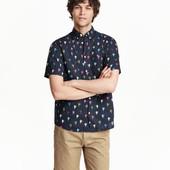 Рубашка H&M кактусы Xxl