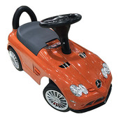 New! Машинка-каталка Bambi M 3189-7 Mercedes-benz оранжевый (eva колеса)