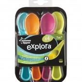 Ложки разноцветные Tommee Tippee 44660471 Великобритания разноцвет 1217445